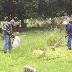 Churchyard Working Party 1